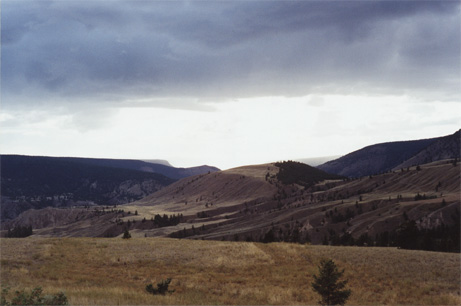 Chilcotin region of B C