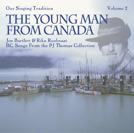 The Young Man from Canada cd cover